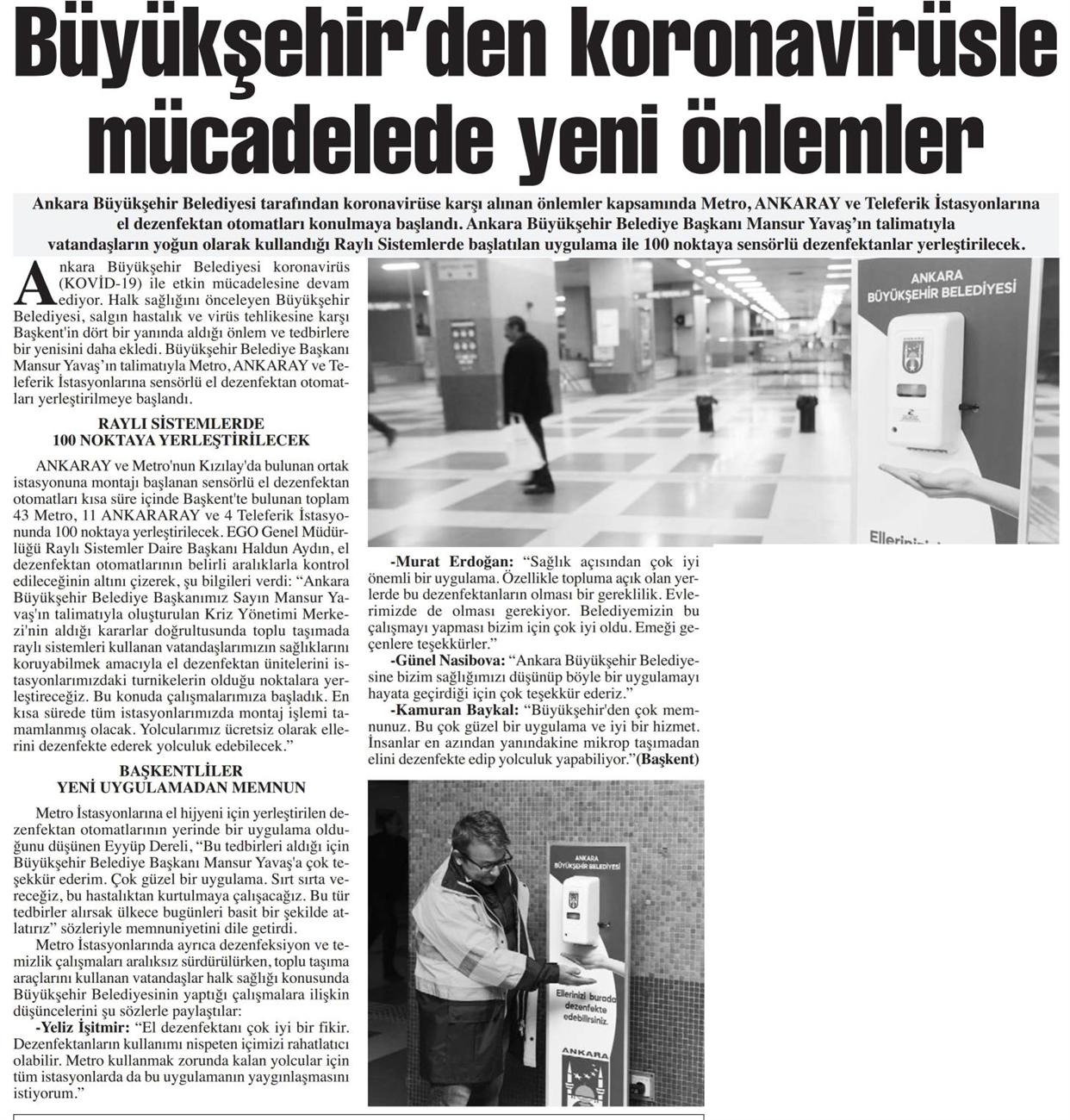 Başkent Gazetesi