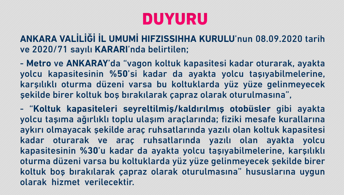 DUYURU (09 EYLÜL 2020)
